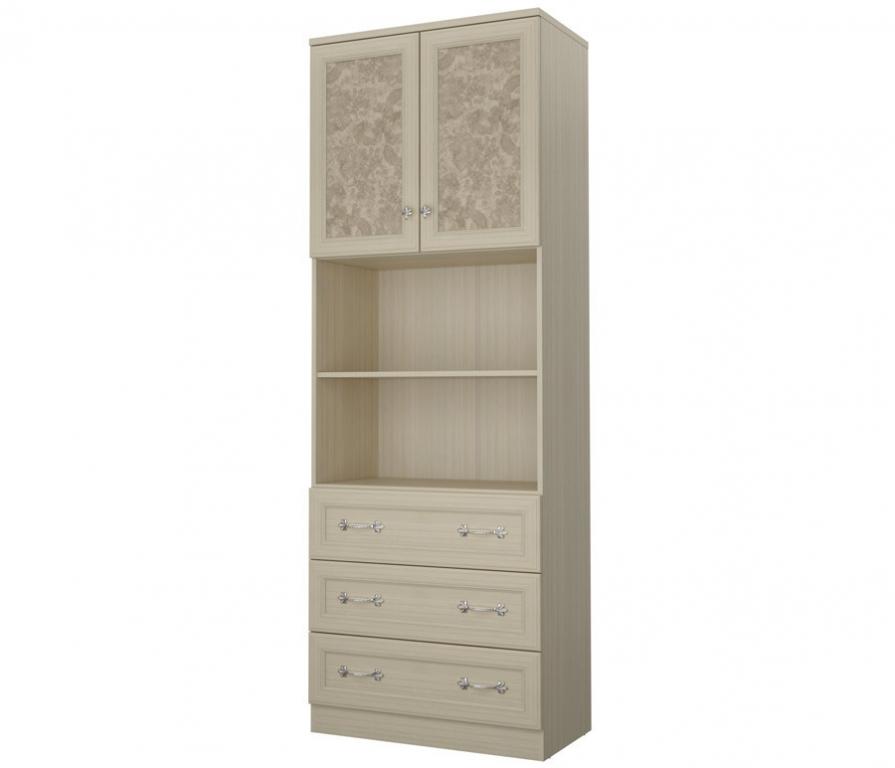 Купить Дженни СТЛ.127.20 Шкаф 2-х дверный с 3-мя ящиками в интернет магазине мебели СТОЛПЛИТ
