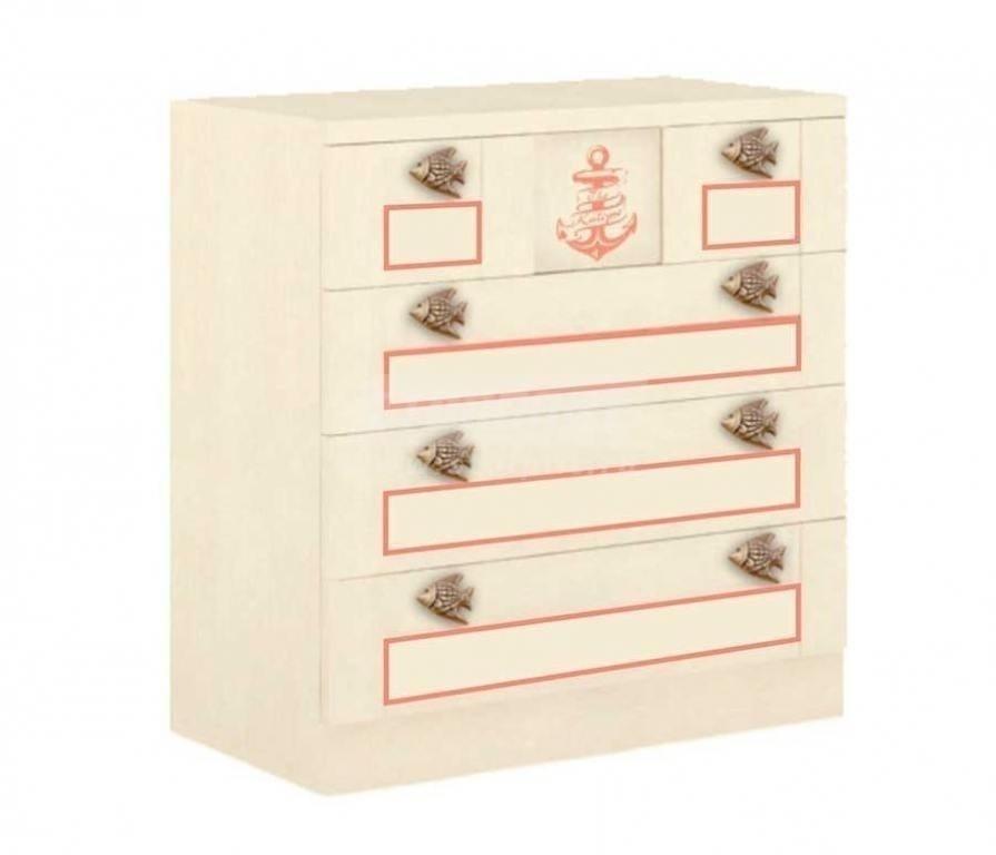 Купить Мебель для детских комнат Калипсо (для девочек) Комод 509.080 в интернет магазине мебели СТОЛПЛИТ