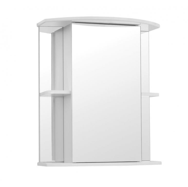 Купить Шкаф зеркальный (зеркало в ванную) Мадрид 60 в интернет магазине мебели СТОЛПЛИТ