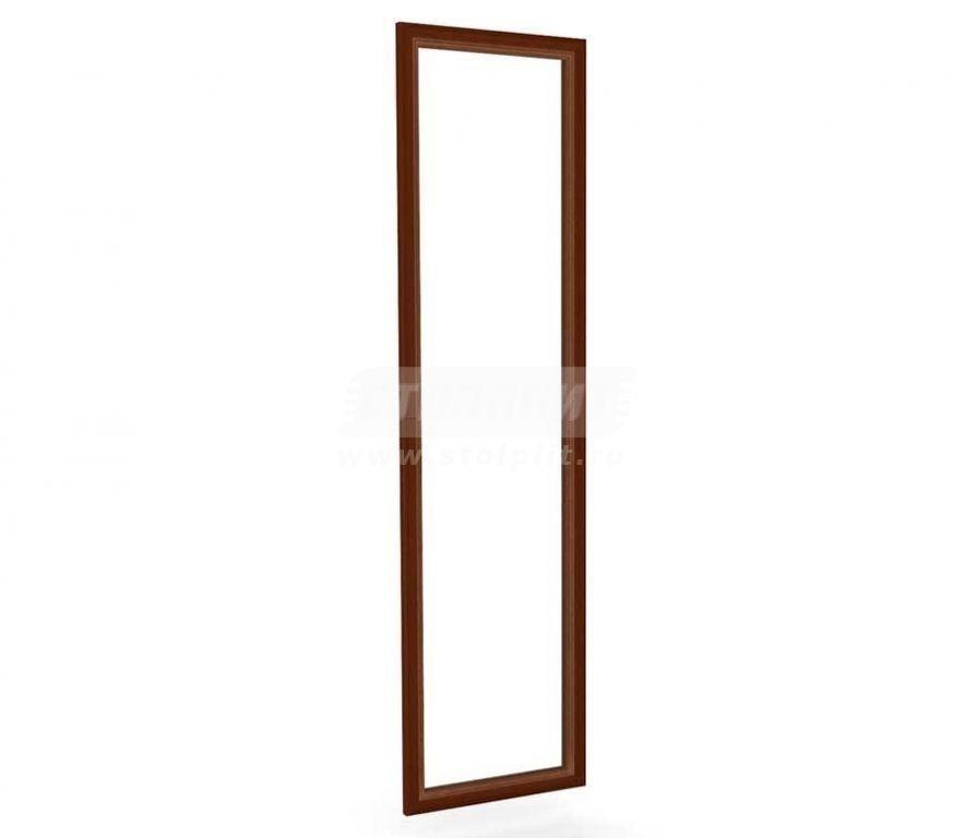 Купить Мебель для спальни Александрия (Орех) дверь для шкафа-купе с зеркалом 625.004 в интернет магазине мебели СТОЛПЛИТ