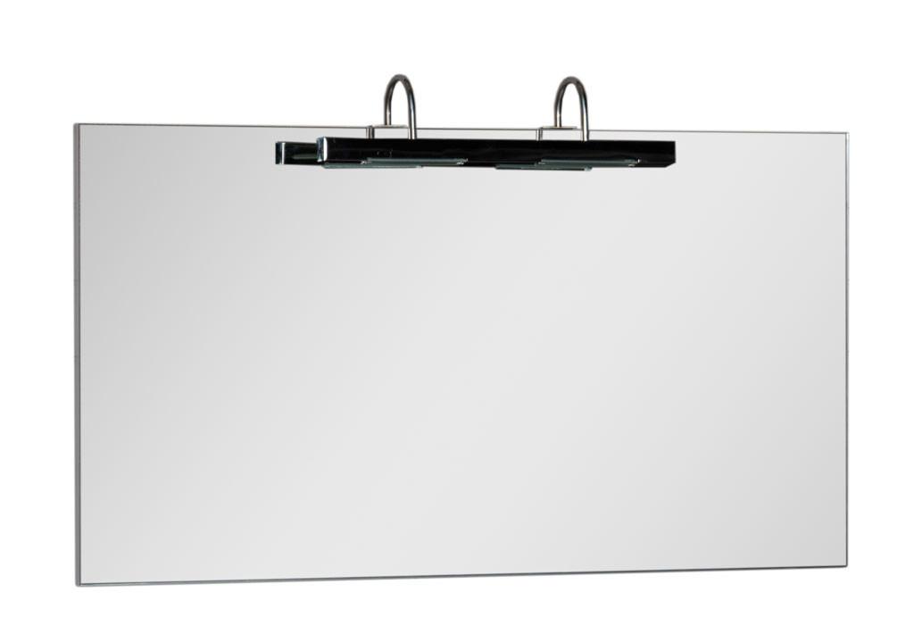 Купить Зеркало Aquanet Данте 110 белый в интернет магазине мебели СТОЛПЛИТ