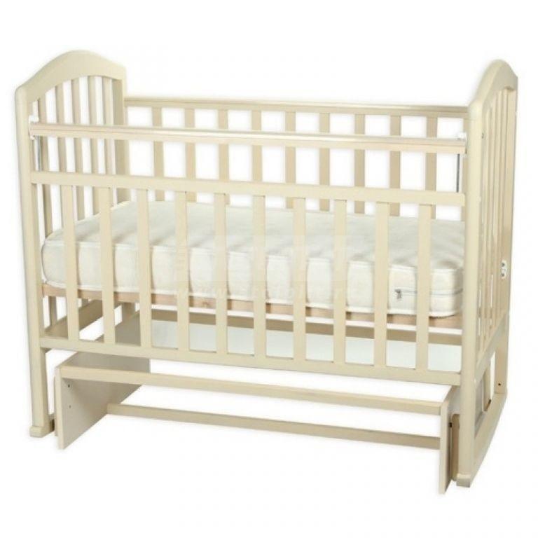 Купить Детская кроватка Алита слоновая кость в интернет магазине мебели СТОЛПЛИТ