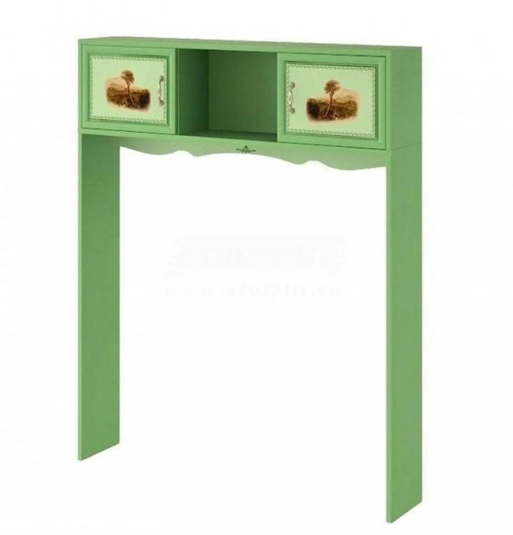 Купить Антресоль-полка со стойками, 2-х дверная. в интернет магазине мебели СТОЛПЛИТ