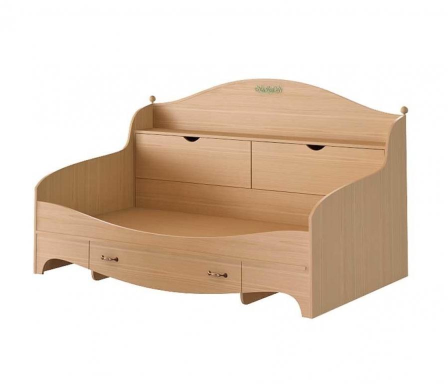 Купить Кровать-тахта с 3-мя ящиками в интернет магазине мебели СТОЛПЛИТ
