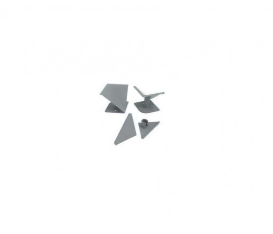 Купить Набор уголк и загл серый в интернет магазине мебели СТОЛПЛИТ