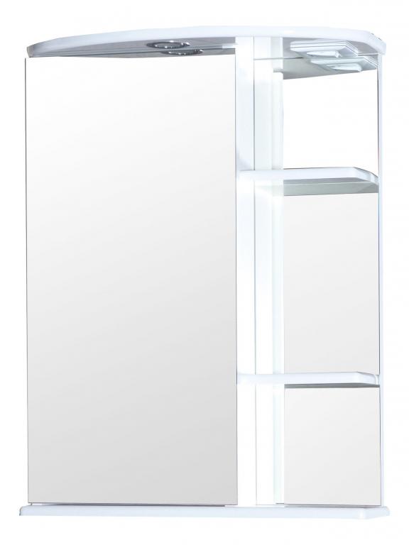 Купить Шкаф зеркальный (зеркало в ванную) Нарцисс 65 с подсветкой в интернет магазине мебели СТОЛПЛИТ