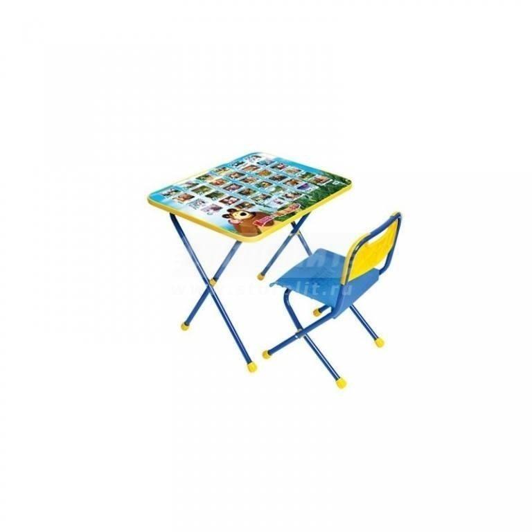Купить Набор мебели Ника Маша и МедведьАзбука КП/1 в интернет магазине мебели СТОЛПЛИТ