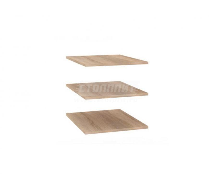 Купить Мебель для спальни Бруна полки секции одностворчатой (3 шт.) 401.005 в интернет магазине мебели СТОЛПЛИТ