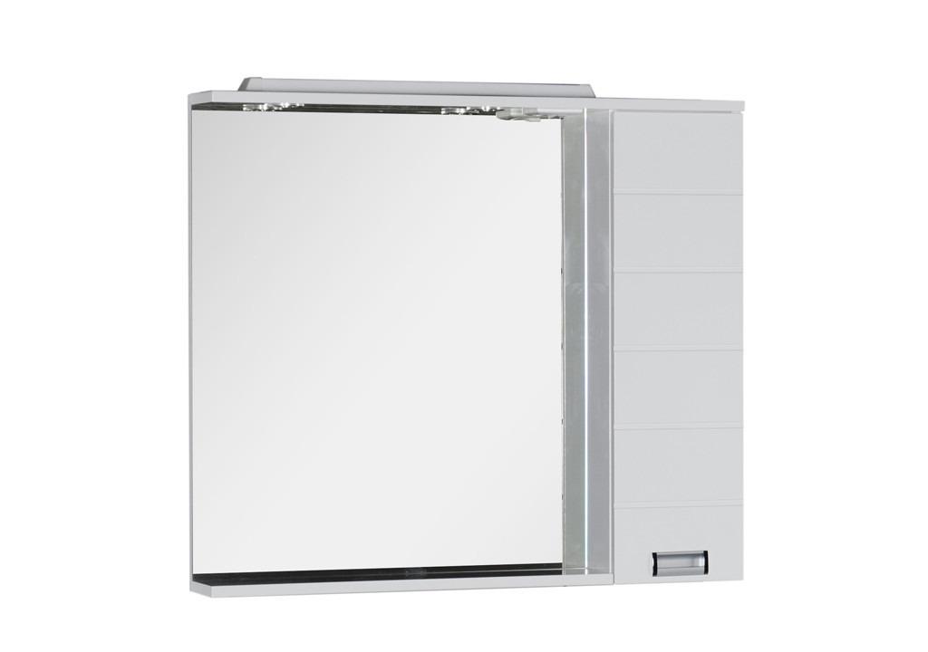 Купить Зеркало Aquanet Сити 100 белый в интернет магазине мебели СТОЛПЛИТ