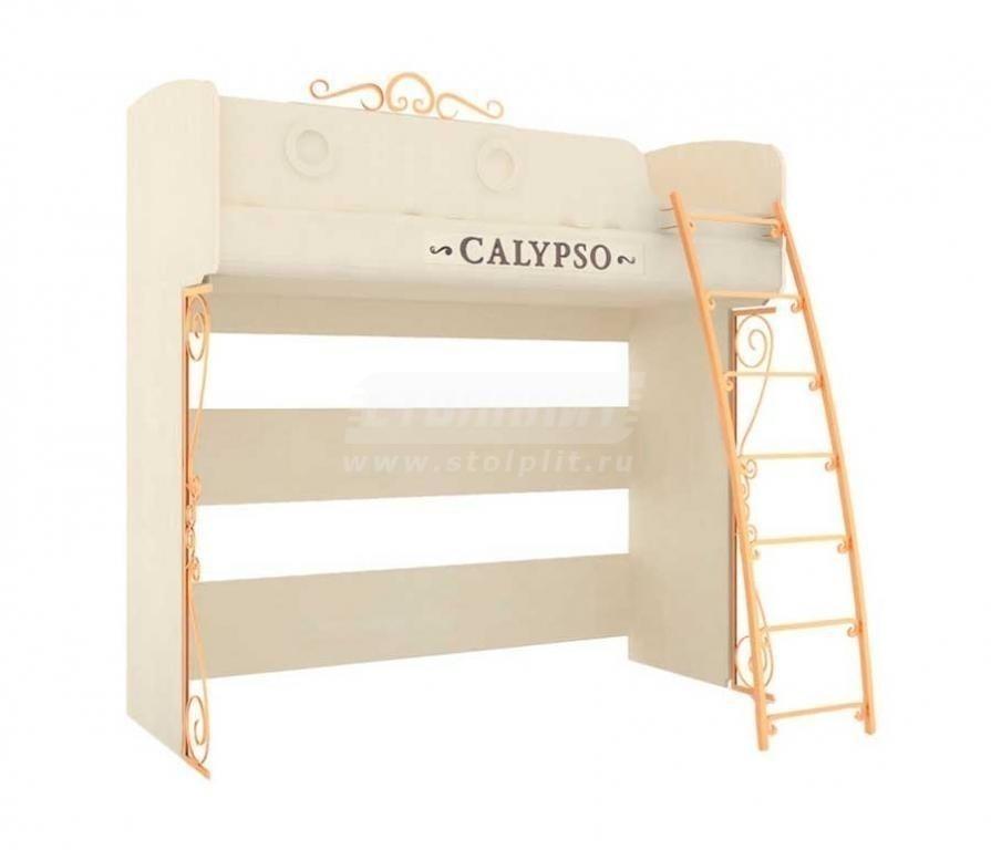 Купить Мебель для детских комнат Калипсо (для девочек) кровать двухъярусная 509.180 в интернет магазине мебели СТОЛПЛИТ