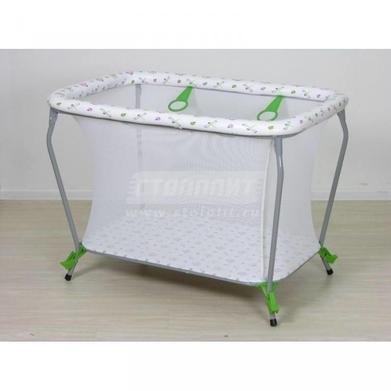 Купить Манеж Экстра классика зеленый в интернет магазине мебели СТОЛПЛИТ