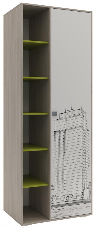 Купить Шкаф для детской Мегаполис в интернет магазине мебели СТОЛПЛИТ