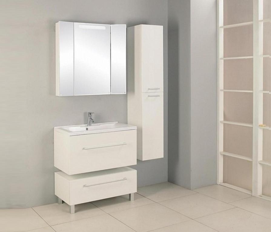 Купить Акватон. Комплект мебели Мадрид 80 в ванную комнату в интернет магазине мебели СТОЛПЛИТ