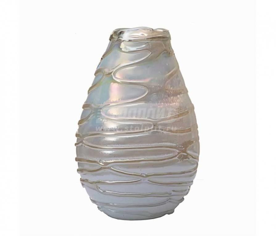 Купить Ваза стеклянная HJ6040-35-G64 в интернет магазине мебели СТОЛПЛИТ