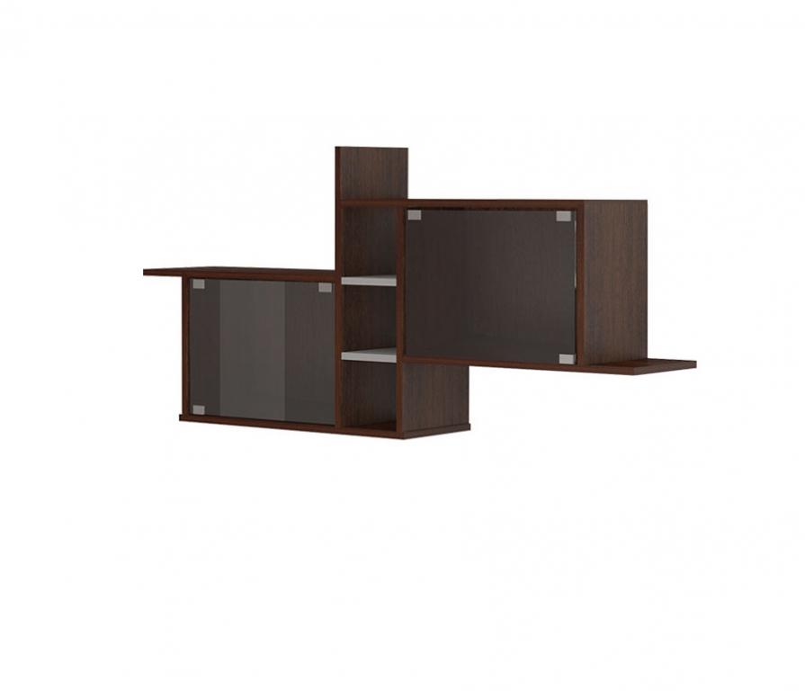 Купить Полка навесная ПК-14 (со стёклами) в интернет магазине мебели СТОЛПЛИТ