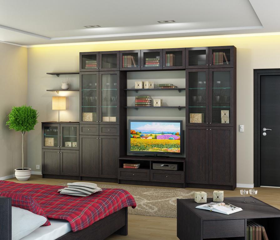 Купить Камелия Гостиная 3602*358*2360 в интернет магазине мебели СТОЛПЛИТ