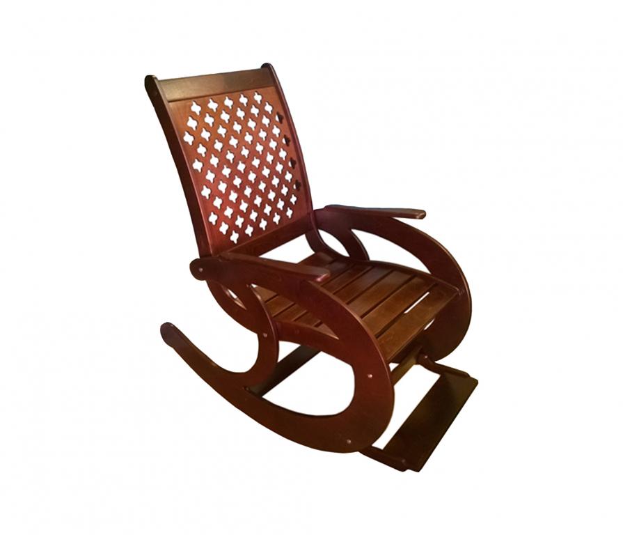 Купить Кресло - качалка, орех в интернет магазине мебели СТОЛПЛИТ