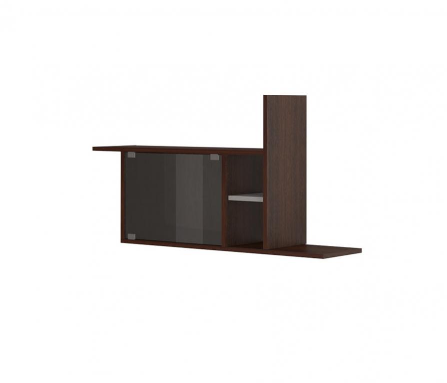 Купить Полка навесная ПК-12 К(со стёклами) в интернет магазине мебели СТОЛПЛИТ
