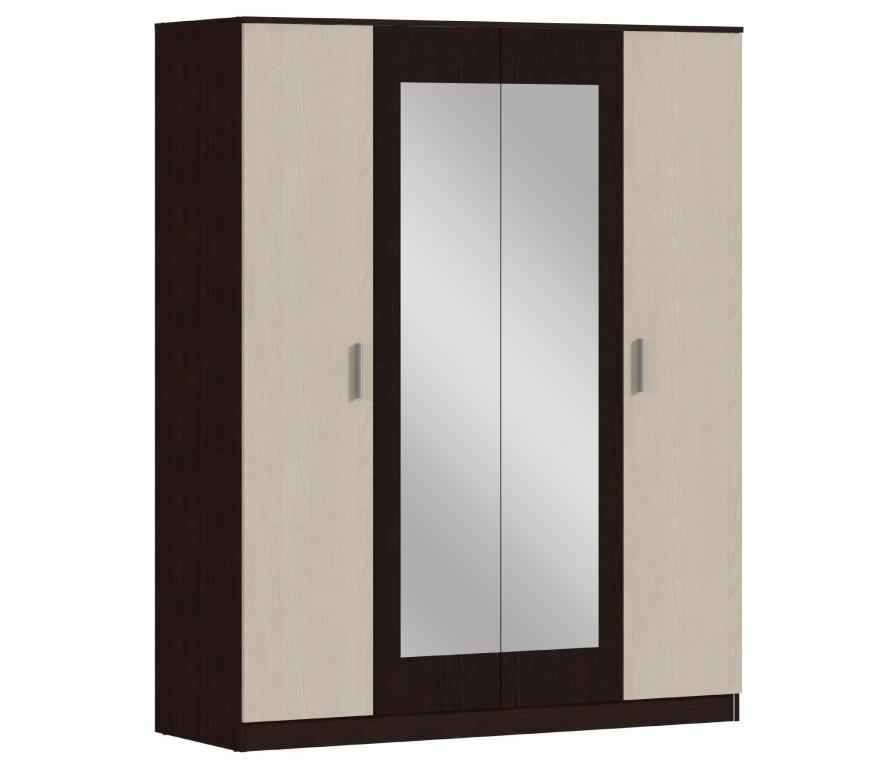 Купить Уют СБ-2750 Шкаф 4-х дверный в интернет магазине мебели СТОЛПЛИТ
