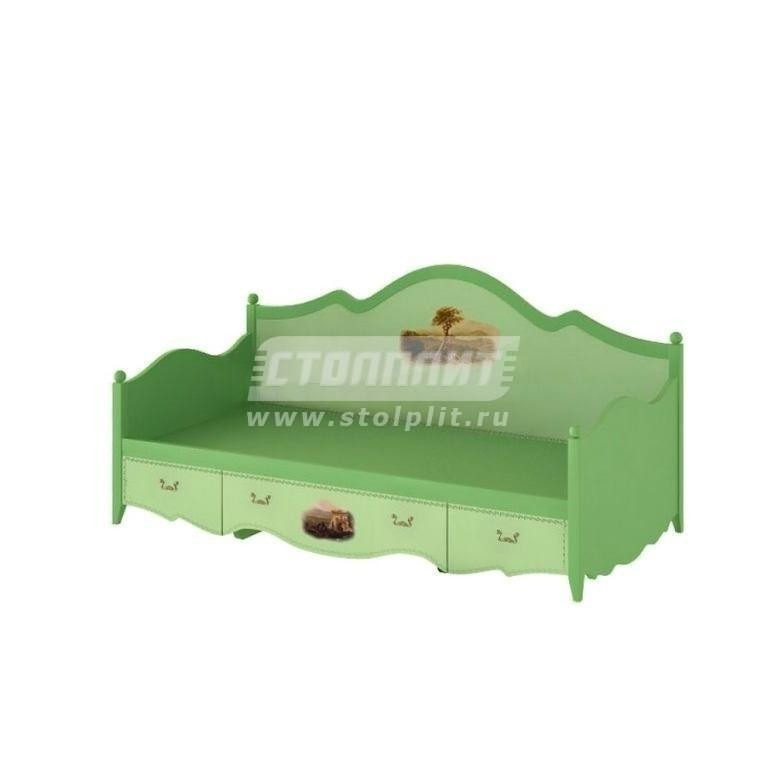 Купить Кровать-тахта с 3-мя ящиками (спальное место 90 х 190) в интернет магазине мебели СТОЛПЛИТ