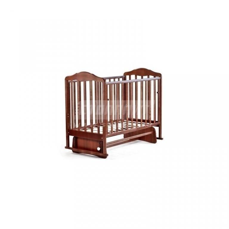 Купить Детская кроватка Березка орех в интернет магазине мебели СТОЛПЛИТ