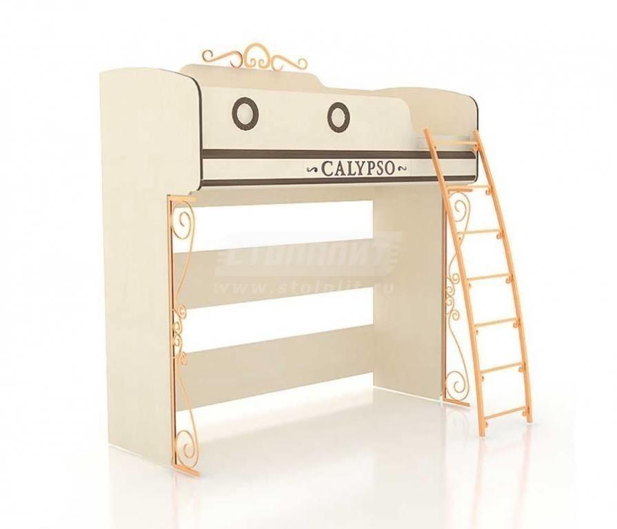 Купить Мебель для детских комнат Калипсо (для мальчиков) кровать двухъярусная 509.180 в интернет магазине мебели СТОЛПЛИТ