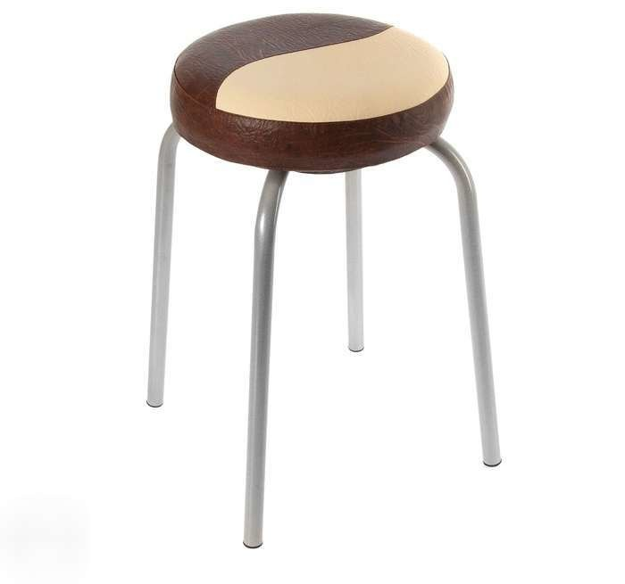 Купить Табурет Пуф (каркас серый) в интернет магазине мебели СТОЛПЛИТ