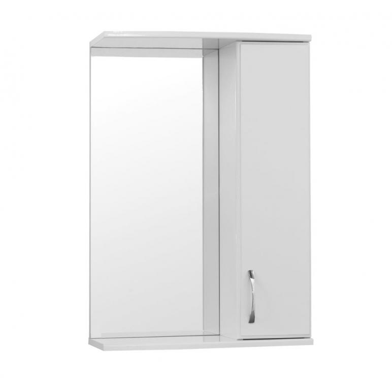 Купить Шкаф зеркальный (зеркало в ванную) Турин (Панда) 65 в интернет магазине мебели СТОЛПЛИТ