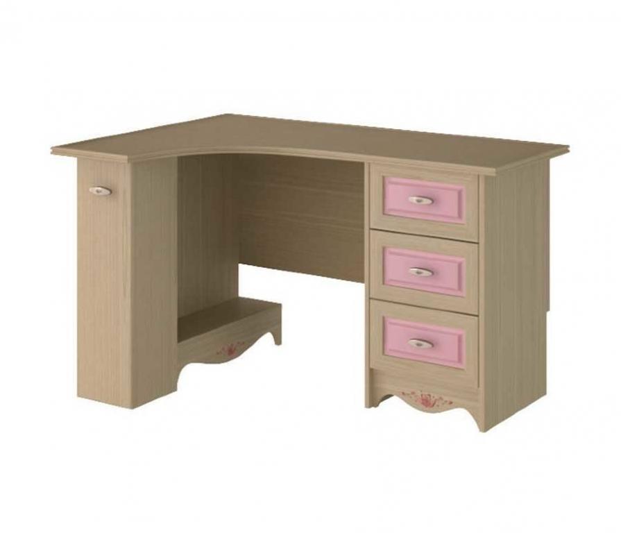 Купить Угловой стол письменный ЛЕВЫЙ, с 3-мя ящиками в интернет магазине мебели СТОЛПЛИТ