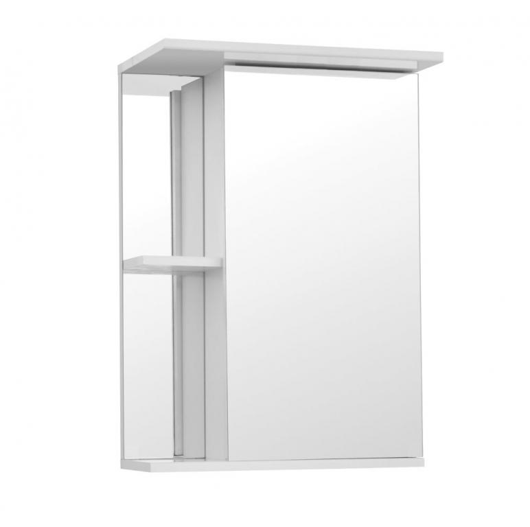 Купить Шкаф зеркальный (зеркало в ванную) Николь 55 в интернет магазине мебели СТОЛПЛИТ
