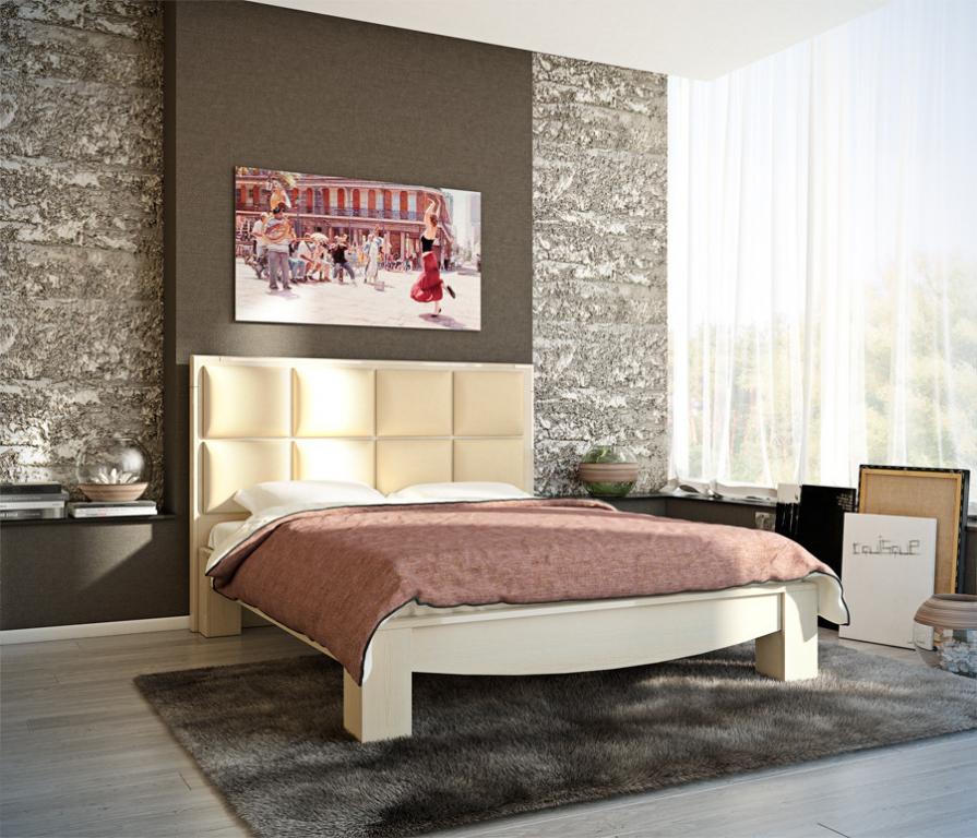 Купить Эвита СВ-189 кровать дуб кремона в интернет магазине мебели СТОЛПЛИТ