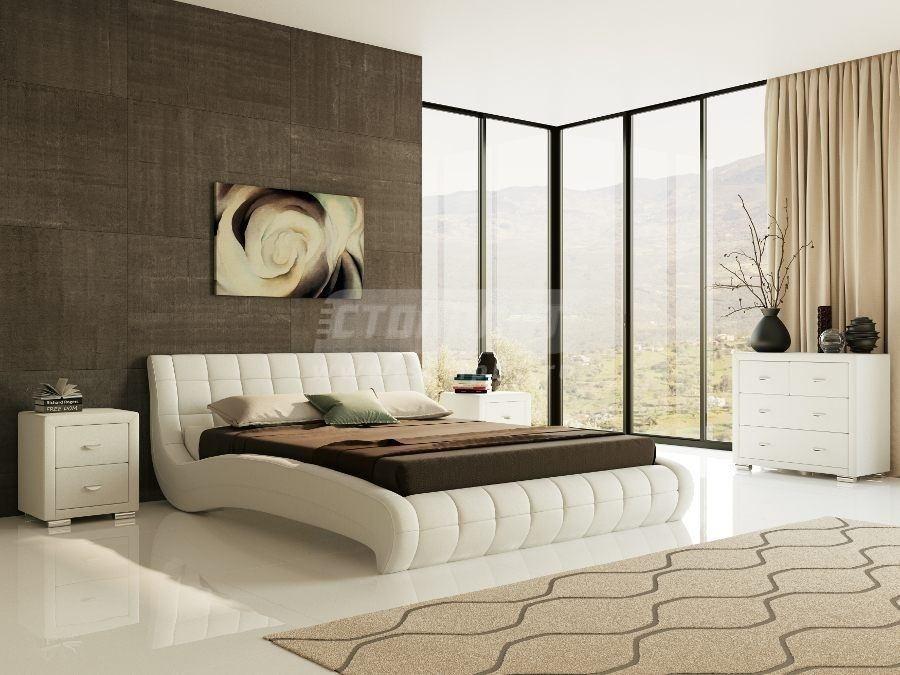 Купить Кровать Nuvola 1 160*200 в интернет магазине мебели СТОЛПЛИТ