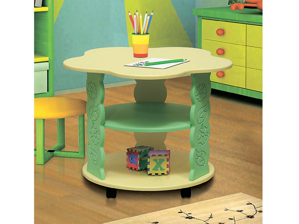 Купить Стол журнальный Цветочек в интернет магазине мебели СТОЛПЛИТ