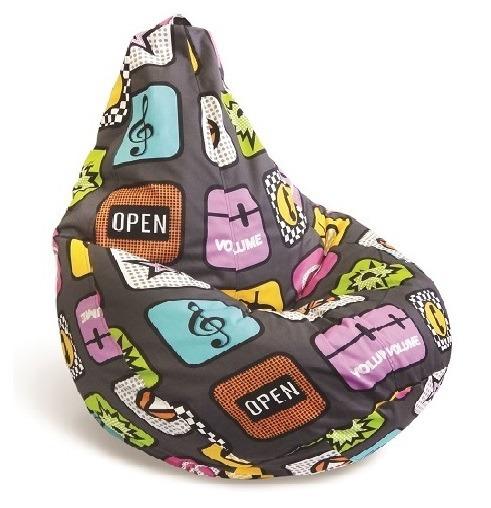 Купить Кресло-мешок-груша Плэй L в интернет магазине мебели СТОЛПЛИТ