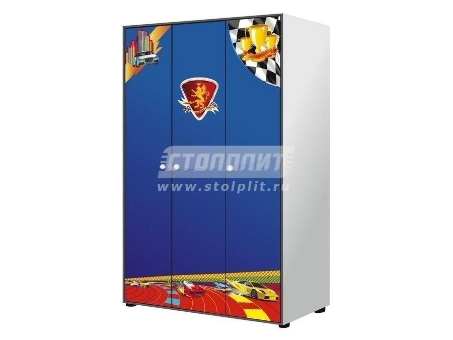 Купить Шкаф 3 х дверный GSR-8031 в интернет магазине мебели СТОЛПЛИТ