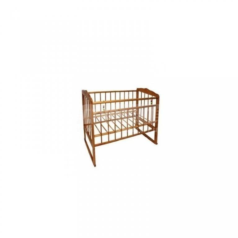 Купить Кровать детская Женечка-3 колесо качалка в интернет магазине мебели СТОЛПЛИТ