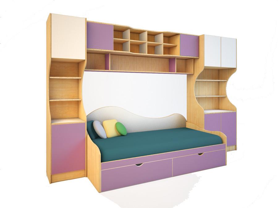 Купить Детская мебель Эльпа №5 в интернет магазине мебели СТОЛПЛИТ