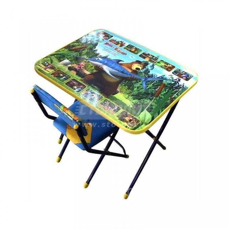 Купить Набор мебели Ника Маша и Медведь Ловись рыбка КУ1/5 в интернет магазине мебели СТОЛПЛИТ