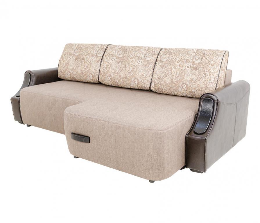 Купить Диван Олд Траффорд угловой с полуоттоманкой правый в интернет магазине мебели СТОЛПЛИТ