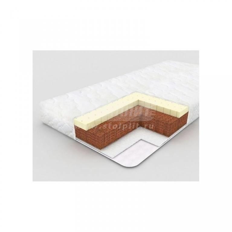 Купить Plitex Матрас в кроватку Evolution Комфорт-Элит (125х65х10см)  ЭЛ-119-02 в интернет магазине мебели СТОЛПЛИТ