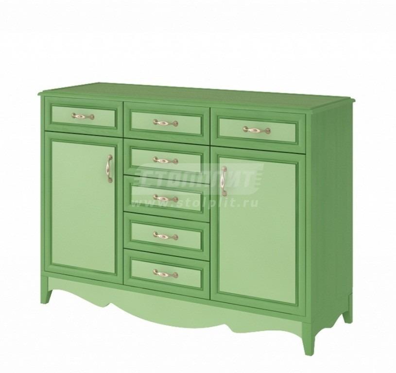 Купить Комод большой, 7 ящиков и 2 двери в интернет магазине мебели СТОЛПЛИТ