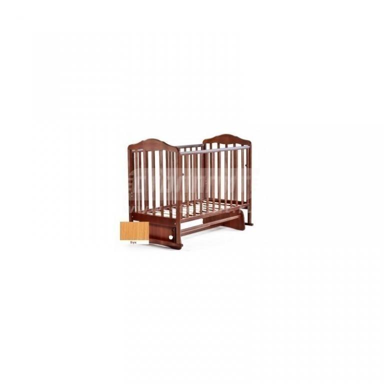 Купить Кровать детская Березка поперечный маятник без ящика бук в интернет магазине мебели СТОЛПЛИТ
