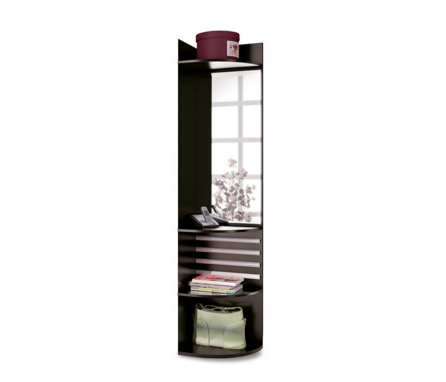 Купить Полонез СВ-17/1П Стеллаж-зеркало правый в интернет магазине мебели СТОЛПЛИТ
