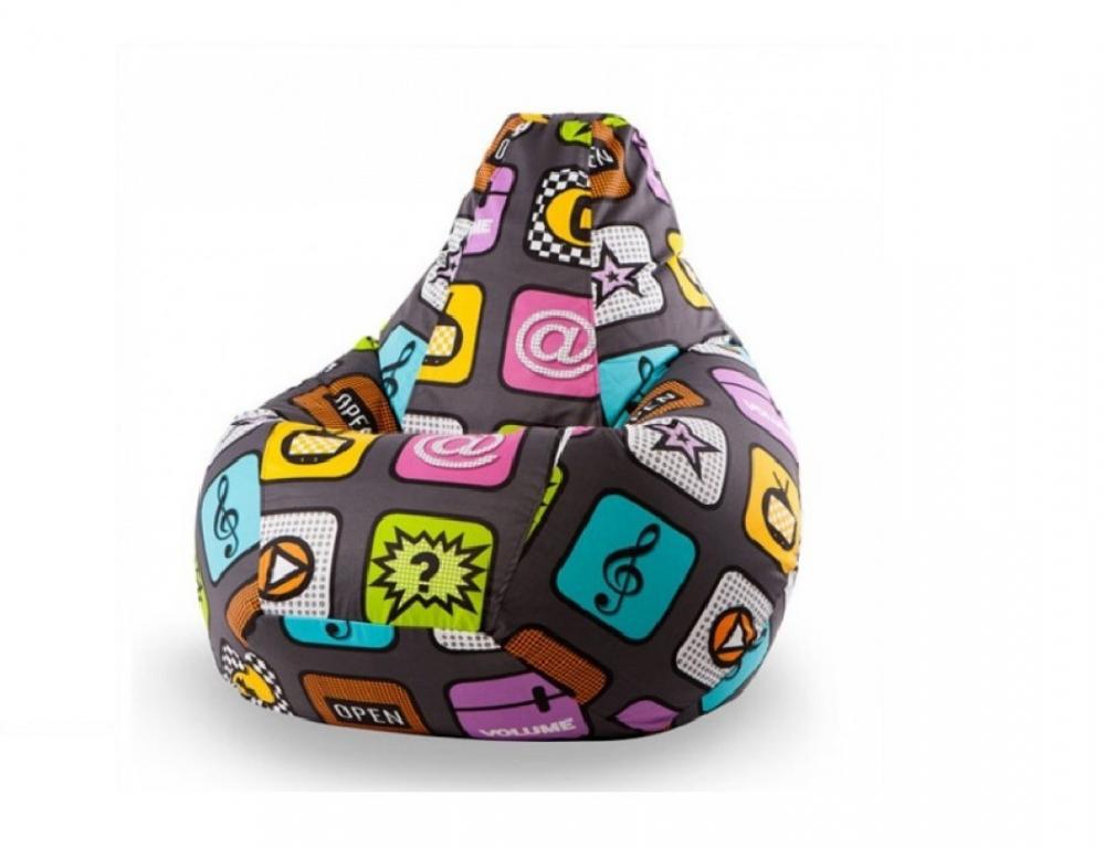 Купить Кресло-груша Смартфон Детский в интернет магазине мебели СТОЛПЛИТ