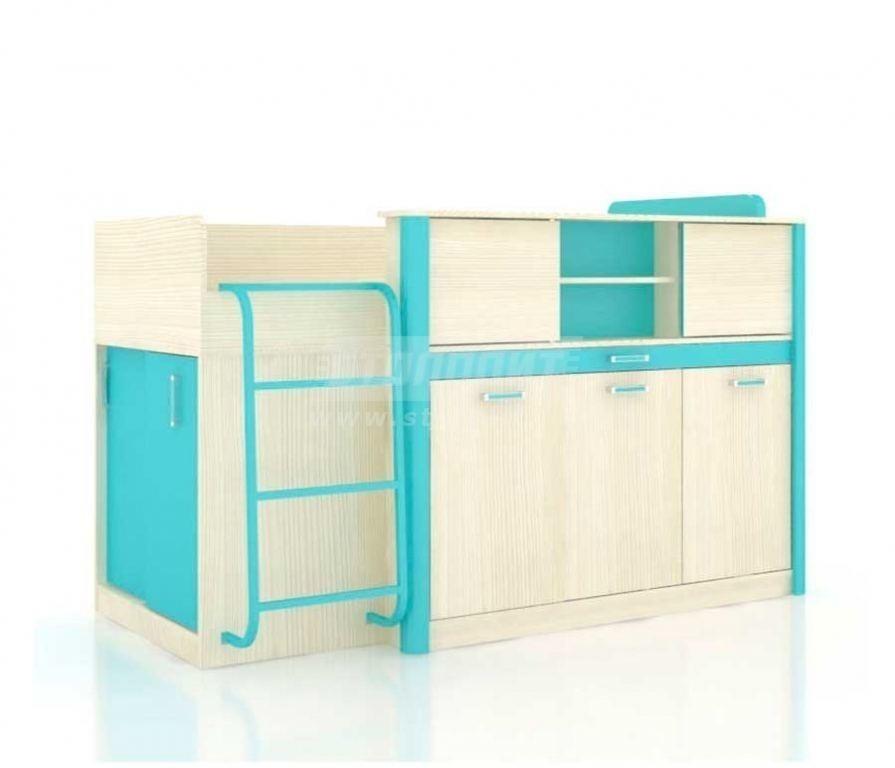 Купить Мебель для детских комнат Смайл кровать комбинированная со столом 508.160 в интернет магазине мебели СТОЛПЛИТ