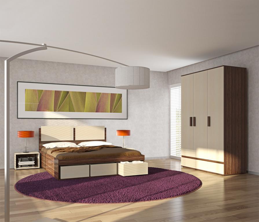 Купить Арт-Сити Комплект мебели для спальни в интернет магазине мебели СТОЛПЛИТ