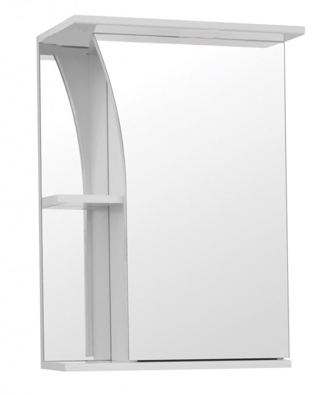 Купить Шкаф зеркальный (зеркало в ванную) Виола 50 в интернет магазине мебели СТОЛПЛИТ