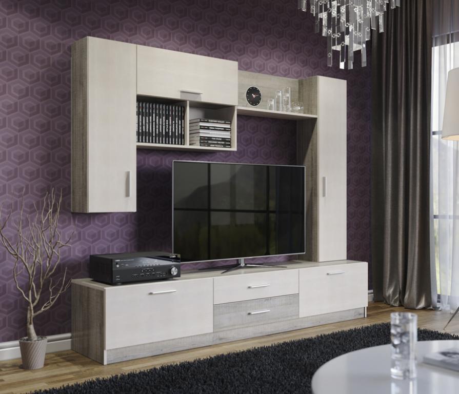 Купить Луиза стенка в интернет магазине мебели СТОЛПЛИТ