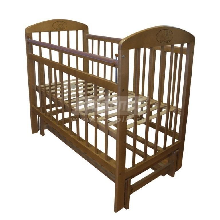 Купить Кровать детская Мой малыш 9 маятник поперечного качания в интернет магазине мебели СТОЛПЛИТ