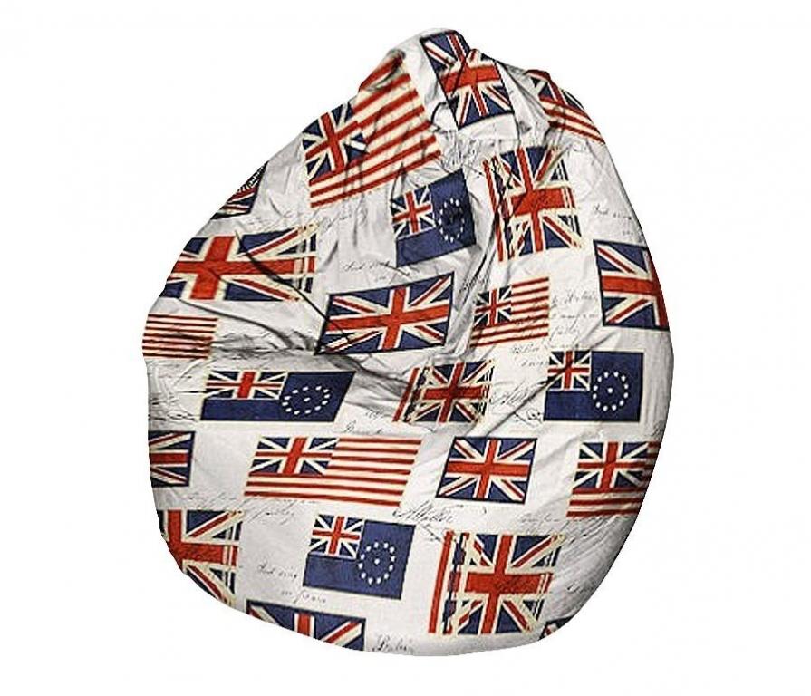 Кресло мешок флаги
